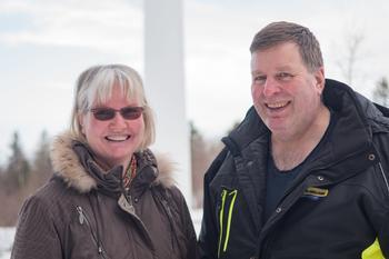 Lars Hoem og Jorun Kristin Hoem