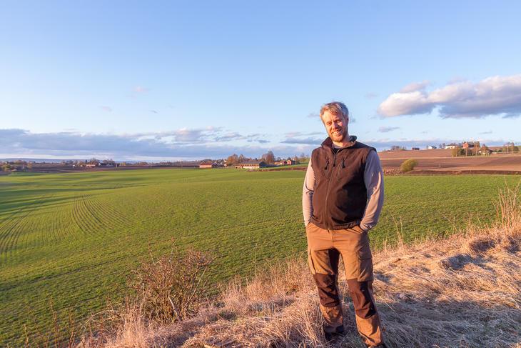 Åsmund Langeland, rådgiver i Norsk Landbruksrådgiving