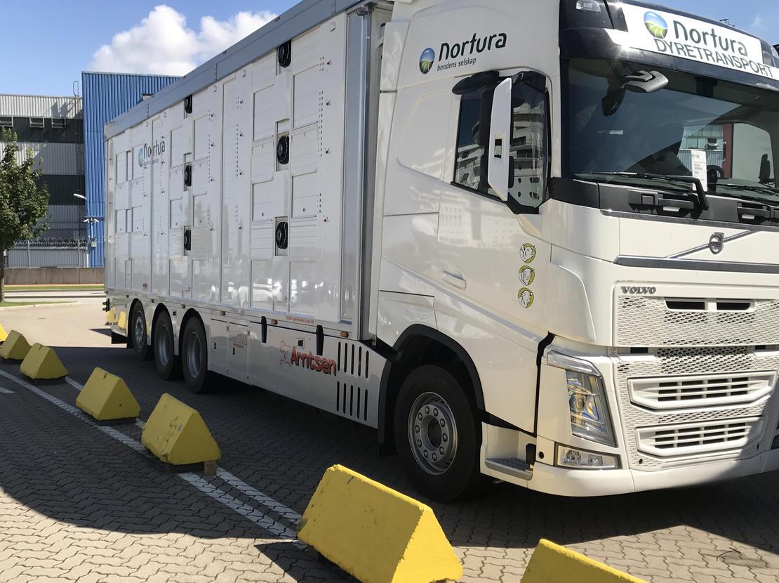 Norturas nye lastebiler med to etasjer