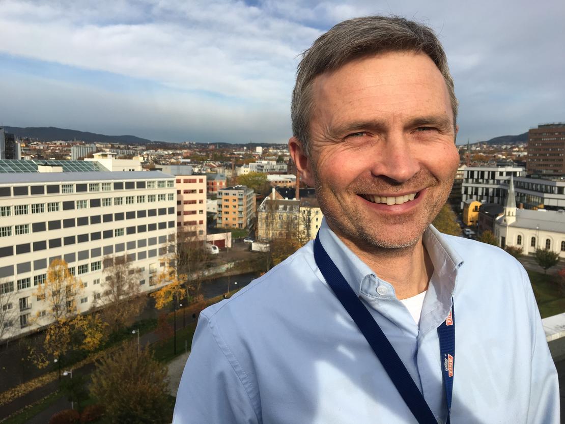 Lars Galtung, direktør for kommunikasjon og samfunnsansvar i TINE